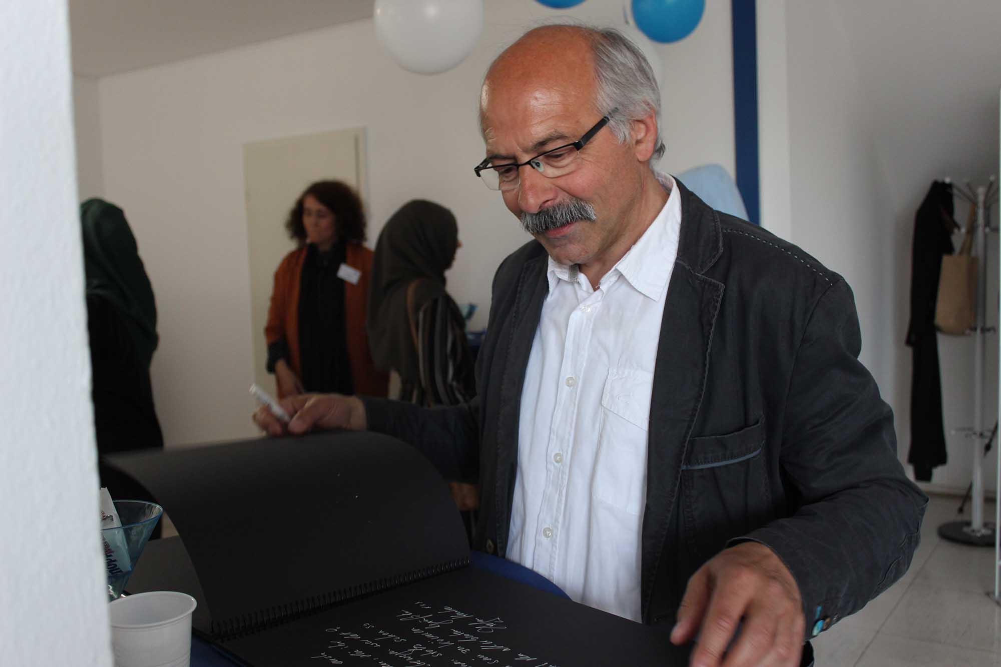 Langjähriger Unterstützer, Fachbeiratsmitglied und Kontaktbeamter der Polizei Köln: Herr Ferring.